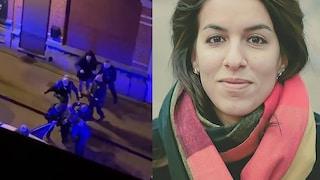 """Claudia, arrestata e buttata a terra dalla polizia a Bruxelles: """"Non respiravo, pensavo di morire"""""""