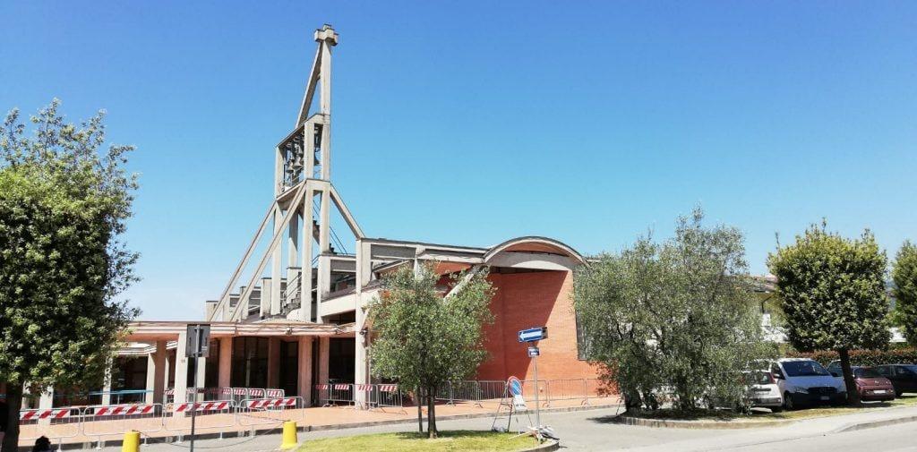 La chiesa del Cristo risorto Spedalino Agnelli