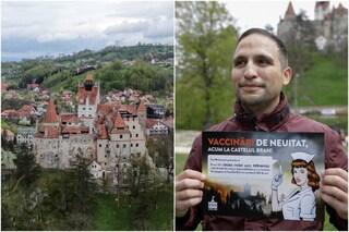 Il castello del Conte Dracula è stato convertito in centro vaccinale