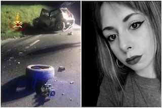 Terribile schianto nella notte a Città di Castello, auto sbanda: Elisa muore a 21 anni