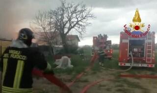 Gubbio, esplosione e crollo di un edificio: morti una donna e un ragazzo di 20 anni