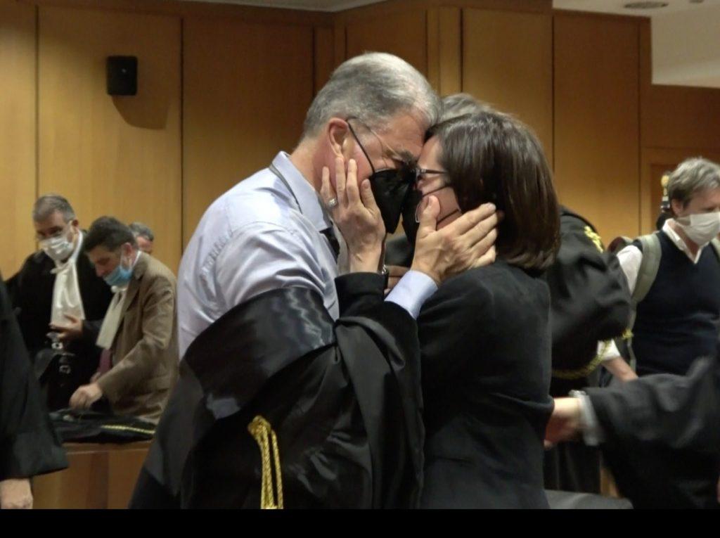 Ilaria Cucchi al processo per la morte del fratello Stefano