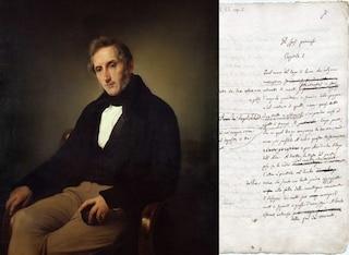 Scoperto manoscritto inedito del romanzo di Alessandro Manzoni: si intitolava 'Gli sposi promessi'