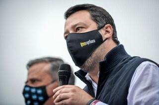 """Coprifuoco, Salvini: """"Se dati lo permettono riapriamo al chiuso e all'aperto, di giorno e di sera"""""""