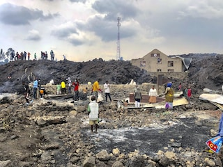 Eruzione vulcano Nyiragongo in Congo, 170 bimbi dispersi e 150 separati dalle famiglie