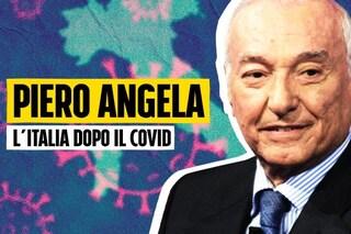 """Piero Angela a Fanpage.it: """"Occupiamoci di cambiamento climatico, sarà la prossima emergenza"""""""