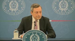 """Draghi: """"Chi vuole potrà comunque fare seconda dose con AstraZeneca, ma mix vaccini più indicato"""""""