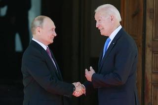 """Faccia a faccia tra Biden e Putin: """"Colloqui costruttivi, non c'era ostilità"""""""