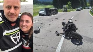 Bolzano, furgone centra moto: muore carabiniere di 52 anni, grave la fidanzata