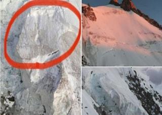 """Allarme sul Monte Bianco: """"Imminente valanga di ghiaccio da 20mila metri cubi"""""""