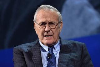 È morto Donald Rumsfeld: ex segretario alla Difesa Usa, tra gli artefici della guerra in Iraq