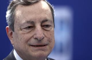 """Dl Covid, Draghi: """"Senza green pass molte Regioni sarebbero passate in giallo, non è un arbitrio"""""""