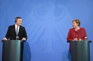 """Draghi e Merkel dicono che sull'immigrazione va rinnovato l'accordo col """"dittatore"""" Erdogan"""
