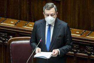 """Draghi ringrazia chi si è vaccinato contro il Covid: """"Campagna procede più spedita che in Europa"""""""