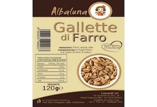 Glutine non dichiarato, ritirate gallette di farro: l'allerta alimentare del Ministero della Salute