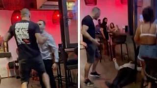 Cliente di un bar pronuncia insulti razzisti, campione di MMA lo stende con un pugno