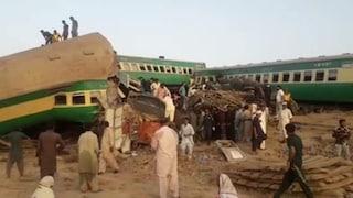 Incidente ferroviario Pakistan, scontro tra due treni: 40 morti e oltre 100 feriti