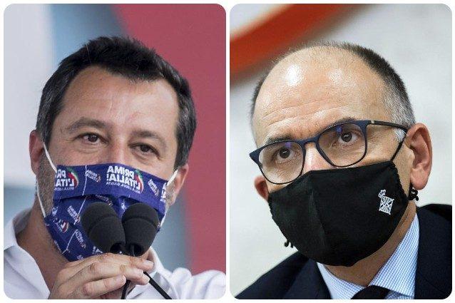 """Letta risponde a Salvini: """"Io faccio da palo a Conte? Linguaggio da leghisti pistoleri"""""""