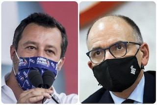 """Ddl Zan, Letta: """"Con Lega mediazione impossibile"""". Salvini: """"Pd usa i gay per battaglia ideologica"""""""