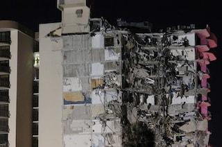"""Crolla palazzo di 12 piani a Miami, si temono molte vittime: """"Persone sotto le macerie, 99 dispersi"""""""