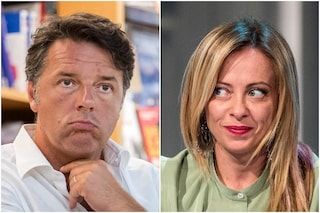 Sondaggi politici, gli elettori del Partito Democratico preferiscono Meloni a Renzi