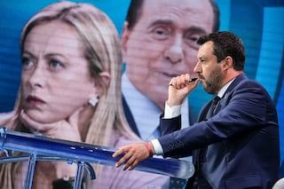 """Salvini: """"Facciamo federazione di centrodestra, a elezioni mi piacerebbe arrivare come forza unica"""""""