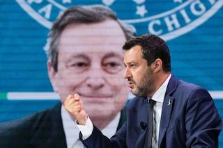 """Salvini attacca Draghi: """"Tutta l'Europa riapre, per quale pregiudizio ideologico l'Italia no?"""""""