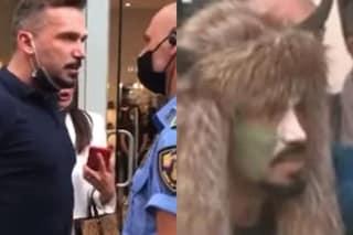"""Non vuole indossare mascherina: lo """"sciamano"""" Hermes Ferrari reagisce e prende a testate un passante"""