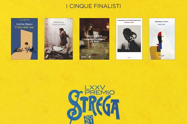 I 5 libri finalisti del Premio Strega
