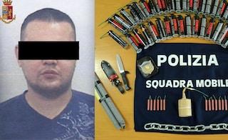 """Dai video contro la polizia alle bombe artigianali in garage: arrestato il rapper """"Terror Bomber"""""""