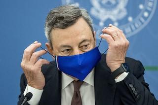 """Scuola, Draghi: """"Presto le nuove misure, faremo tutto il necessario per il ritorno in presenza"""""""