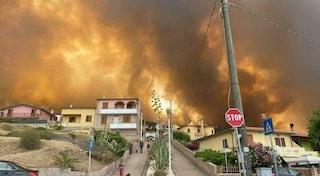 """Inferno di fuoco in Sardegna, il governatore Solinas: """"Cancellata la nostra storia"""", in fumo 20mila ettari"""