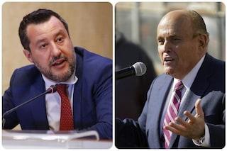 """Comunali, Salvini guarda a New York: """"Voglio l'ex sindaco Rudolph Giuliani nella mia squadra"""""""