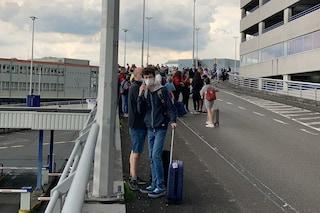 Bruxelles, evacuato aeroporto di Zaventem per sospetto bagaglio esplosivo
