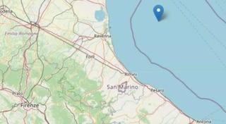 Terremoto nel Mar Adriatico, scossa 4.2 avvertita su tutta la riviera romagnola