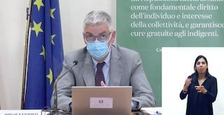 """Brusaferro: """"2,5milioni over60senza vaccino, dato critico: con variante Delta serve doppia dose"""""""