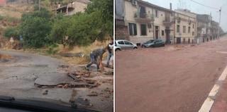 """Maltempo Puglia, allagamenti, frane e strade trasformate in fiumi: """"Evitate spostamenti"""""""