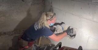 La cagnolina Gertie scompare nel nulla, ritrovata dopo 5 giorni bloccata dietro un muro di casa