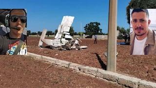 Tragedia a Fasano. Precipita un ultraleggero: muoiono pilota e passeggero. Fatali i cavi elettrici