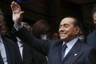 """Berlusconi sogna il Quirinale: """"Ho 10-15% possibilità di diventare presidente della Repubblica"""""""