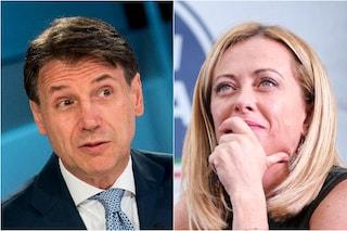 Sondaggi elettorali: Fratelli d'Italia primo a un punto dalla Lega, boom del Movimento 5 Stelle