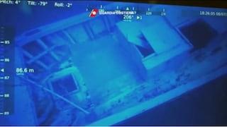 Naufragio a Lampedusa, trovato relitto con 9 corpi a 90 metri di profondità: l'immagine dello scafo