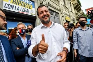 Salvini dice che è ancora contrario al green pass e che si è vaccinato per scelta