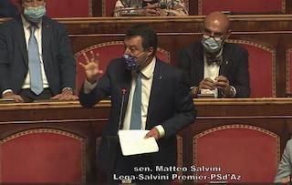 """Ddl Zan, Salvini: """"Chi discrimina è un cretino, ma il reato sia chiaro e lasciamo fuori i bambini"""""""
