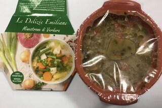 Minestrone di verdura ritirato dai supermercati per contaminazione da batteri