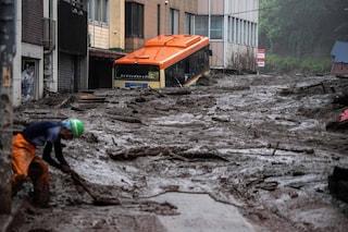 Giappone, piogge torrenziali: cittadina cancellata da una frana. Tre morti e 80 dispersi