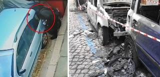 Incubo piromane in strada a Torino, oltre 20 auto date alle fiamme in poche ore