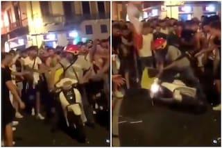 Rider aggredito a Cagliari durante la festa per l'Italia, individuati e denunciati due ultras 20enni