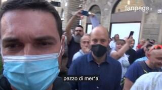 """Solidarietà al giornalista di Fanpage.it aggredito dai no green pass, Nardella: """"Inaccettabile"""""""
