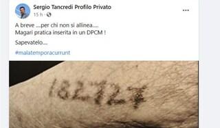 Il deputato regionale siciliano che paragona il Green pass al tatuaggio dei prigionieri nei lager